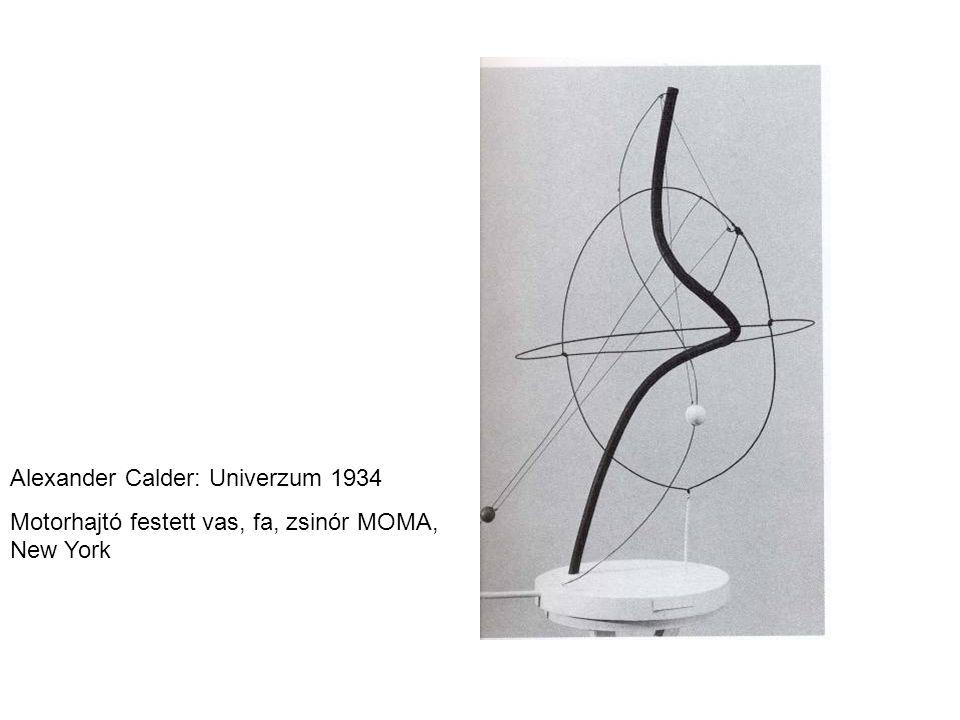 Alexander Calder: Univerzum 1934