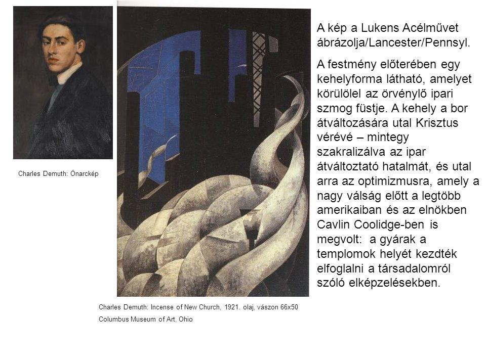 A kép a Lukens Acélművet ábrázolja/Lancester/Pennsyl.