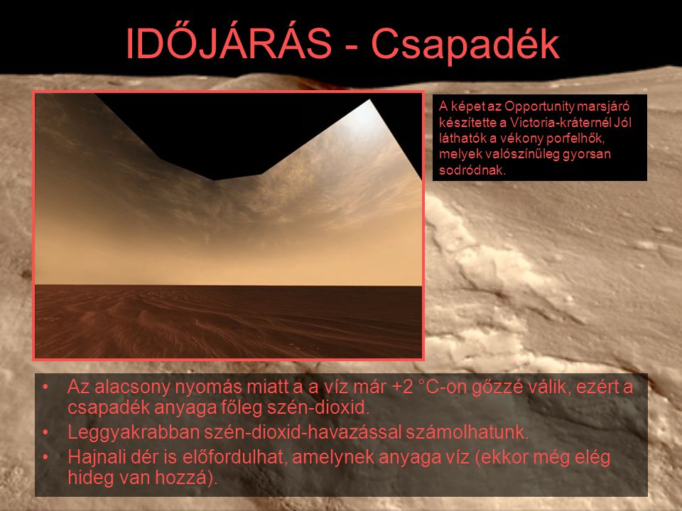 IDŐJÁRÁS - Csapadék