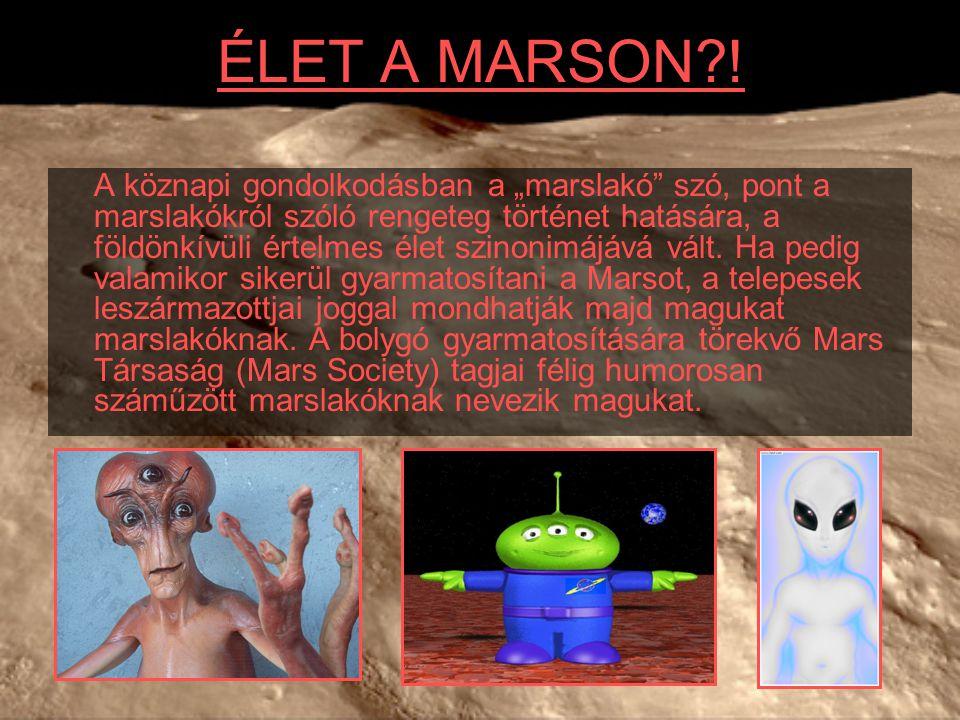 ÉLET A MARSON !