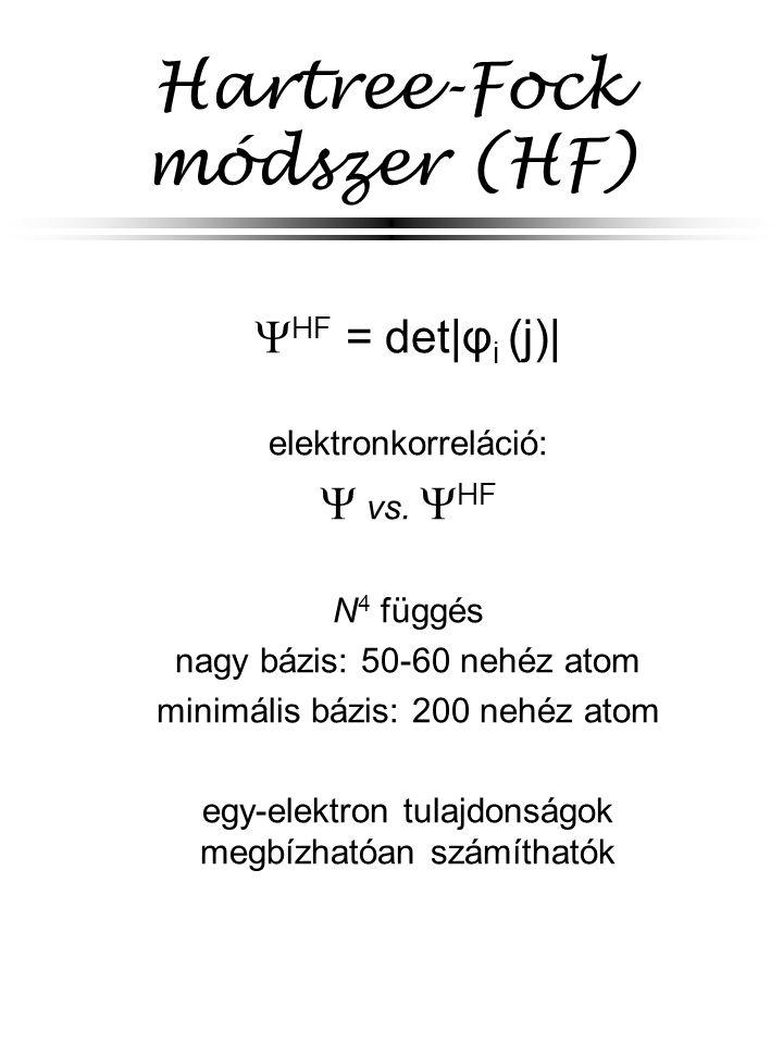 Hartree-Fock módszer (HF)