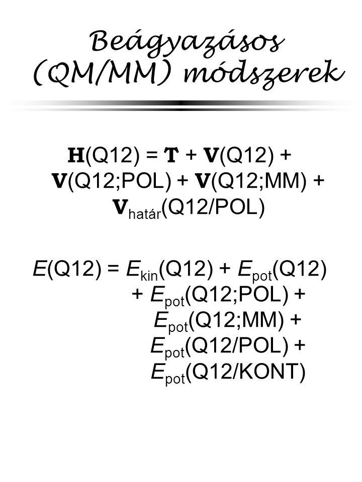 Beágyazásos (QM/MM) módszerek