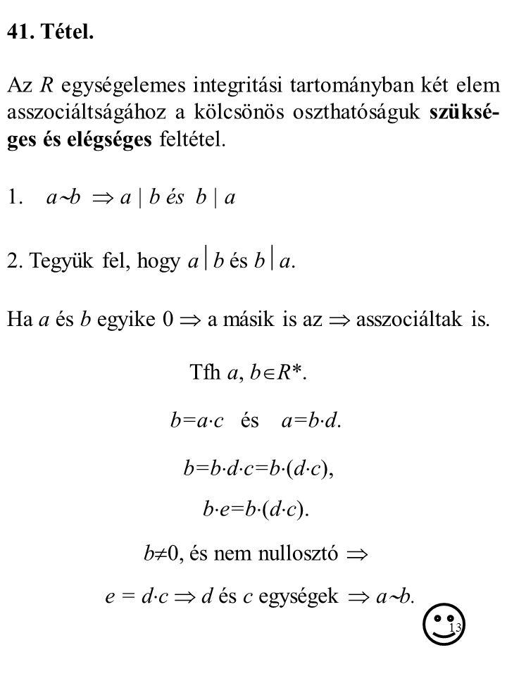 e = dc  d és c egységek  ab.