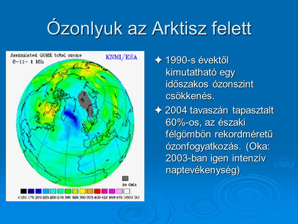 Ózonlyuk az Arktisz felett