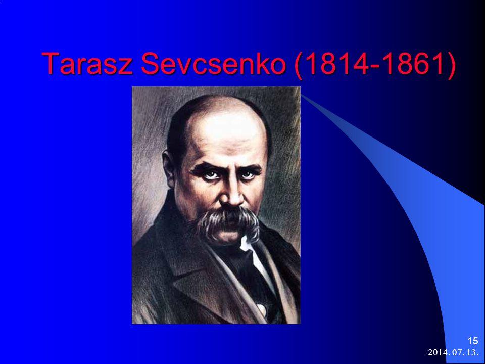 Tarasz Sevcsenko (1814-1861) 2017.04.04.