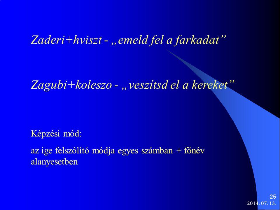 """Zaderi+hviszt - """"emeld fel a farkadat"""