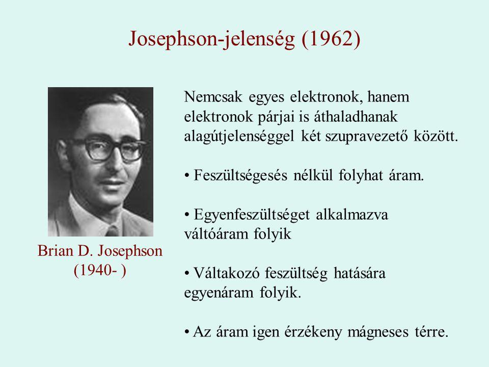 Josephson-jelenség (1962)