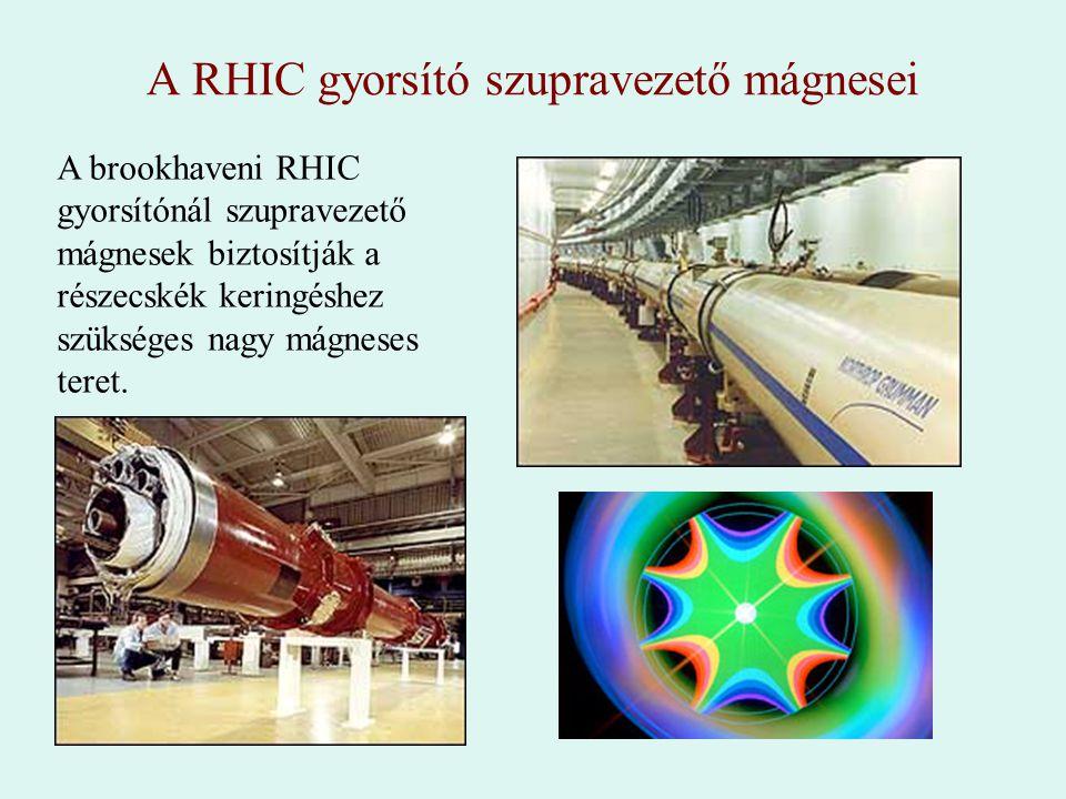 A RHIC gyorsító szupravezető mágnesei
