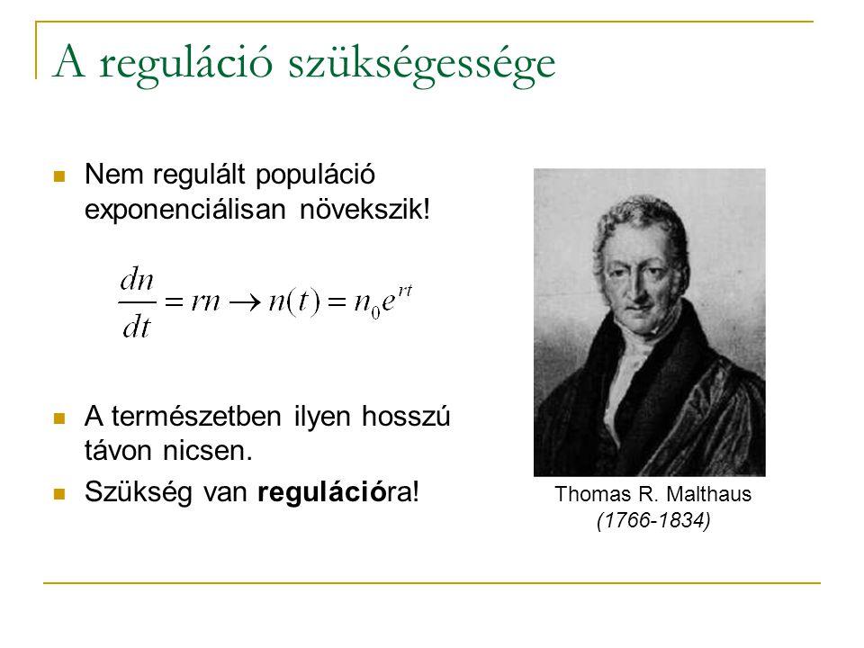 A reguláció szükségessége