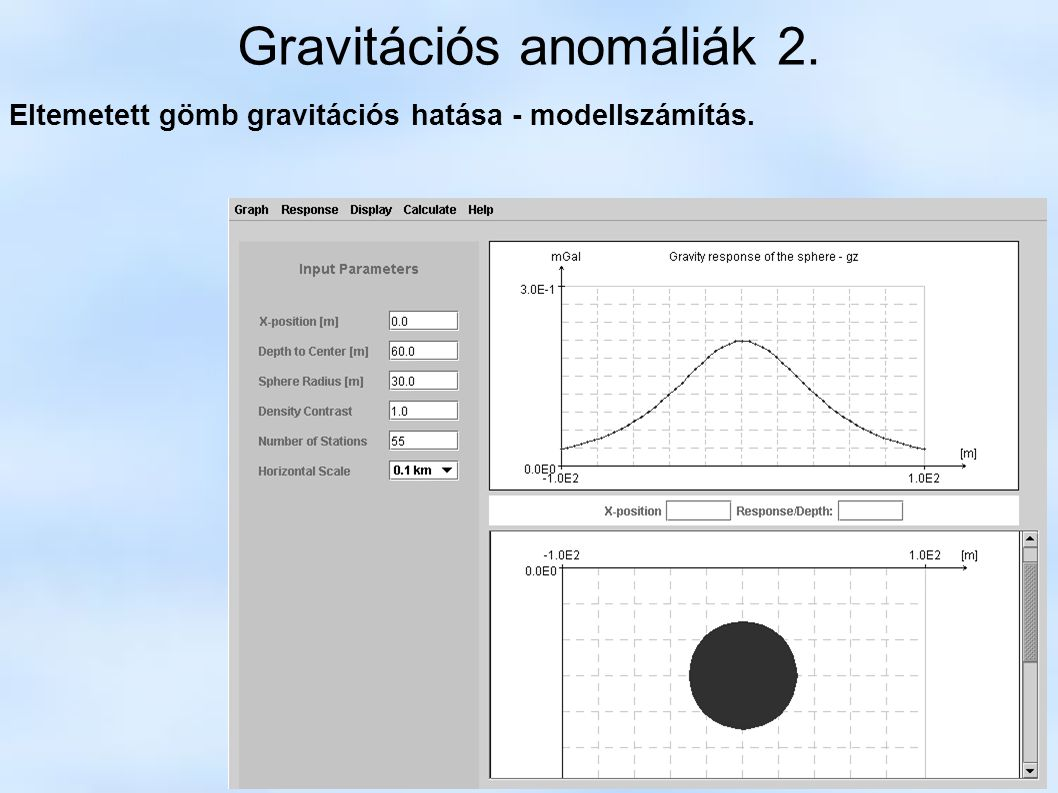 Gravitációs anomáliák 2.