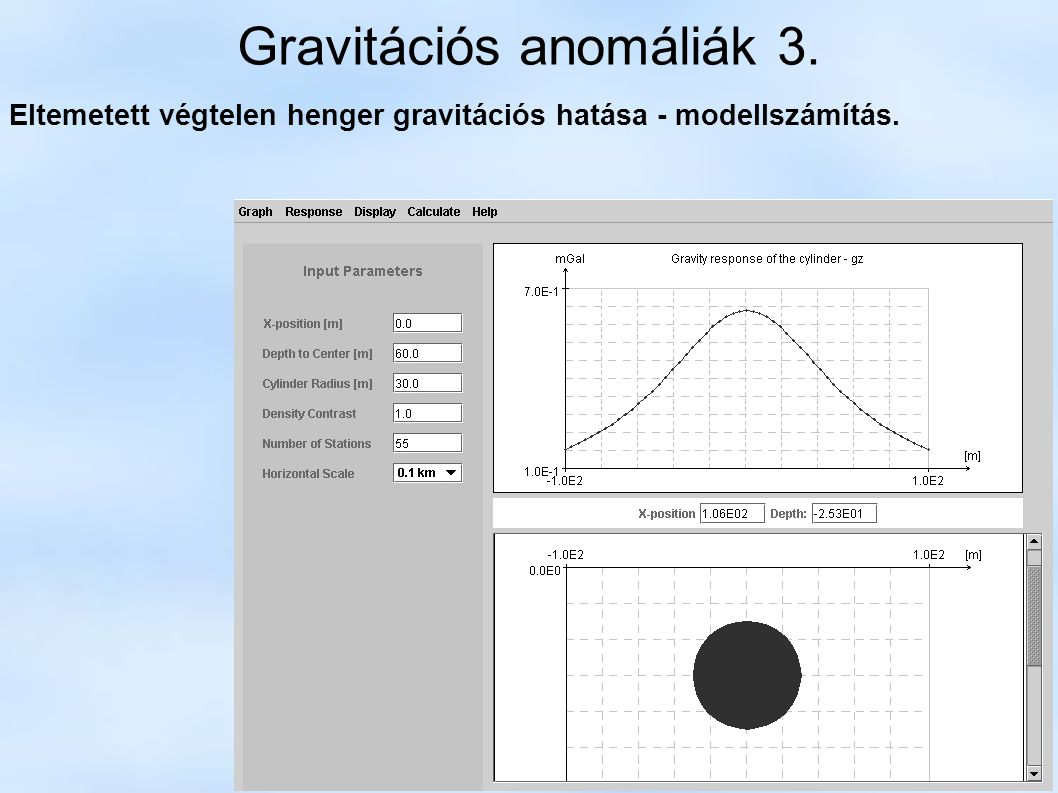 Gravitációs anomáliák 3.