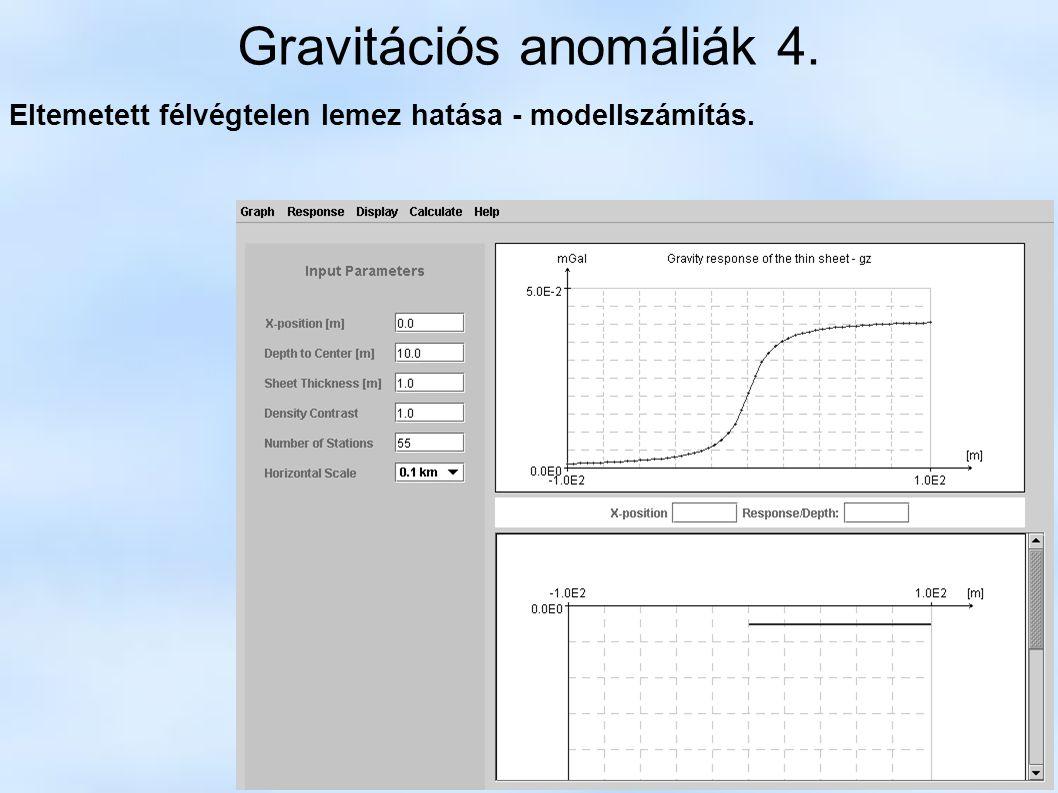 Gravitációs anomáliák 4.