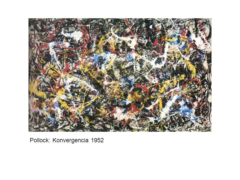 Pollock: Konvergencia 1952