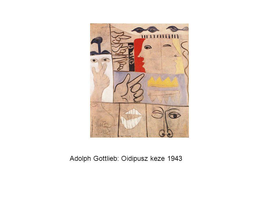 Adolph Gottlieb: Oidipusz keze 1943