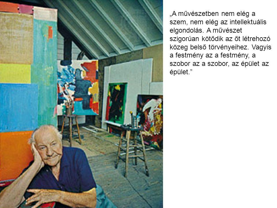 """""""A művészetben nem elég a szem, nem elég az intellektuális elgondolás"""
