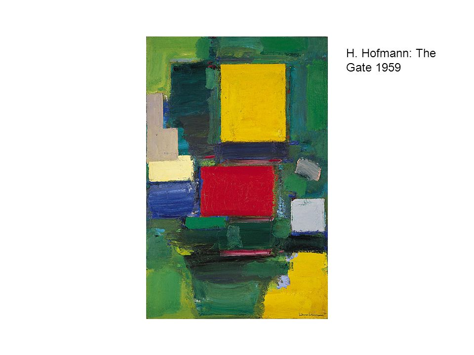 H. Hofmann: The Gate 1959