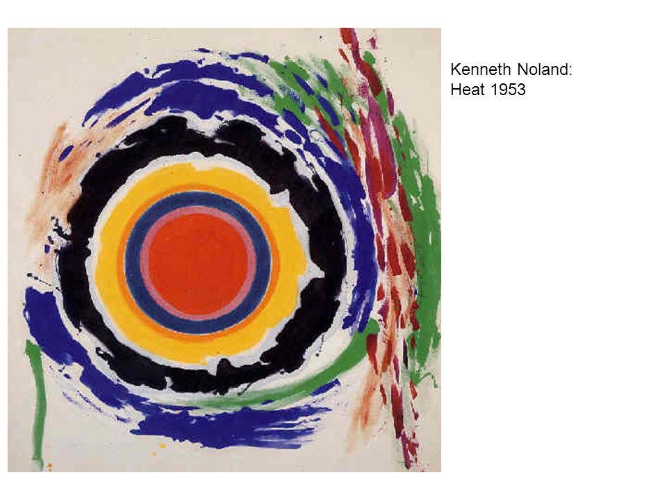Kenneth Noland: Heat 1953