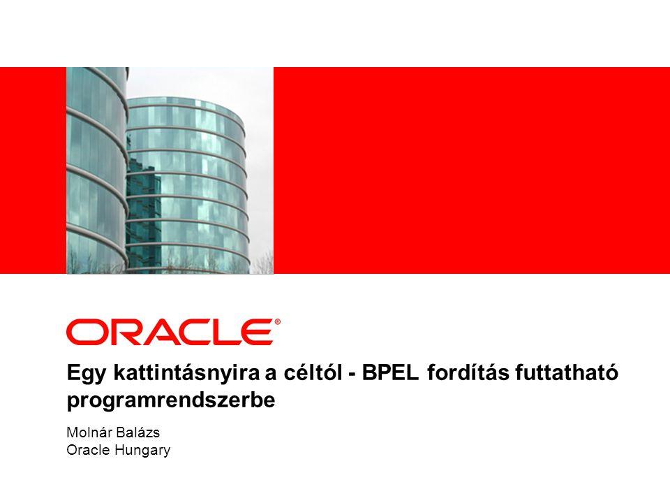 Molnár Balázs Oracle Hungary