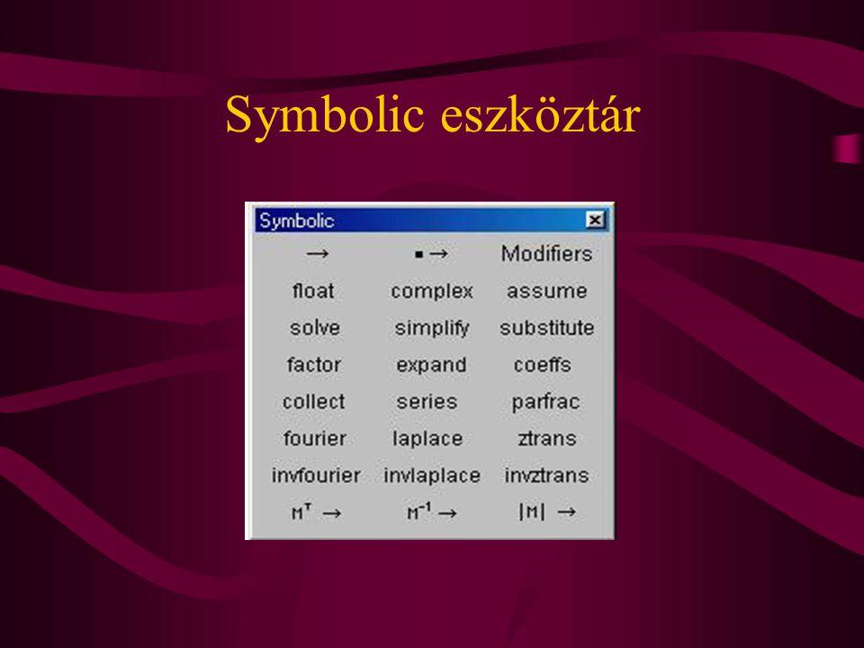 Symbolic eszköztár