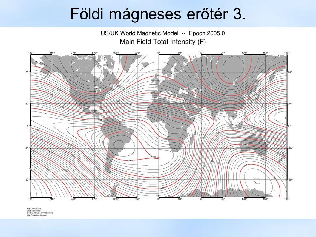 Földi mágneses erőtér 3.