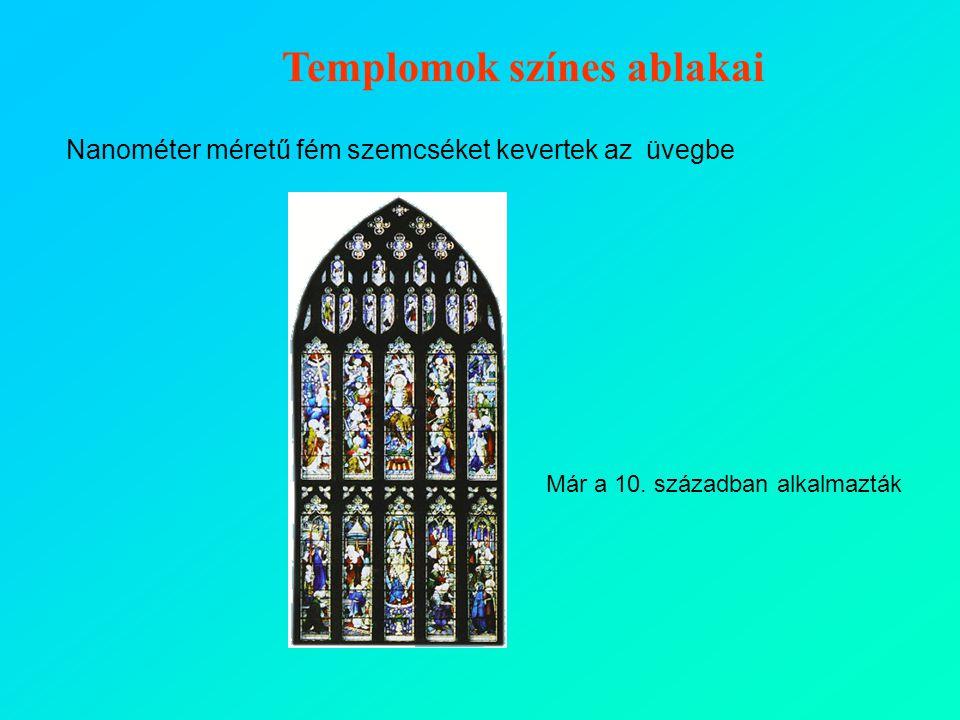 Templomok színes ablakai