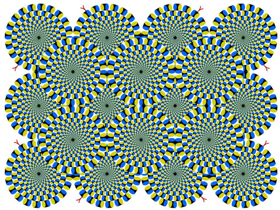 Optikai illúziók (forgó kígyók)