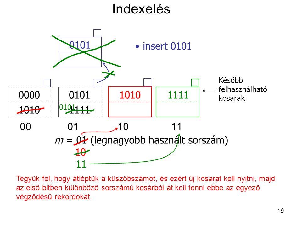 m = 01 (legnagyobb használt sorszám)