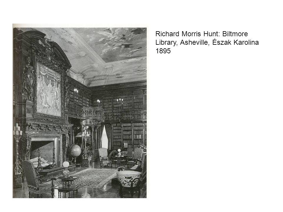 Richard Morris Hunt: Biltmore Library, Asheville, Észak Karolina 1895