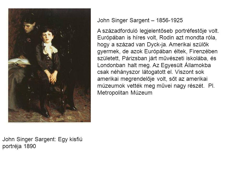 John Singer Sargent – 1856-1925