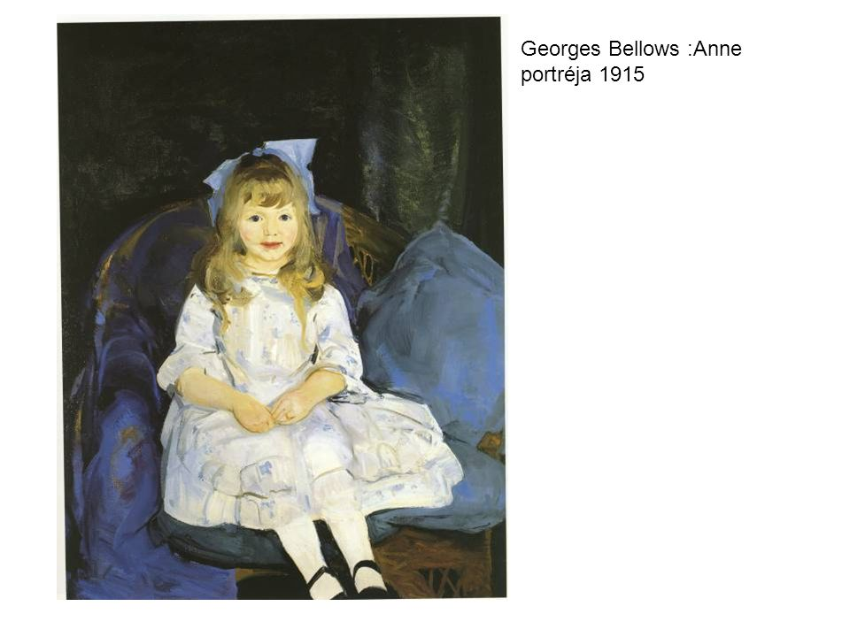 Georges Bellows :Anne portréja 1915