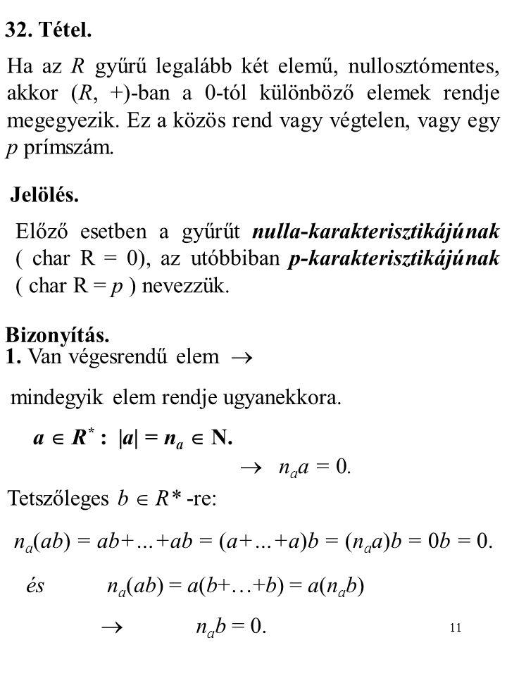na(ab) = ab+…+ab = (a+…+a)b = (naa)b = 0b = 0.