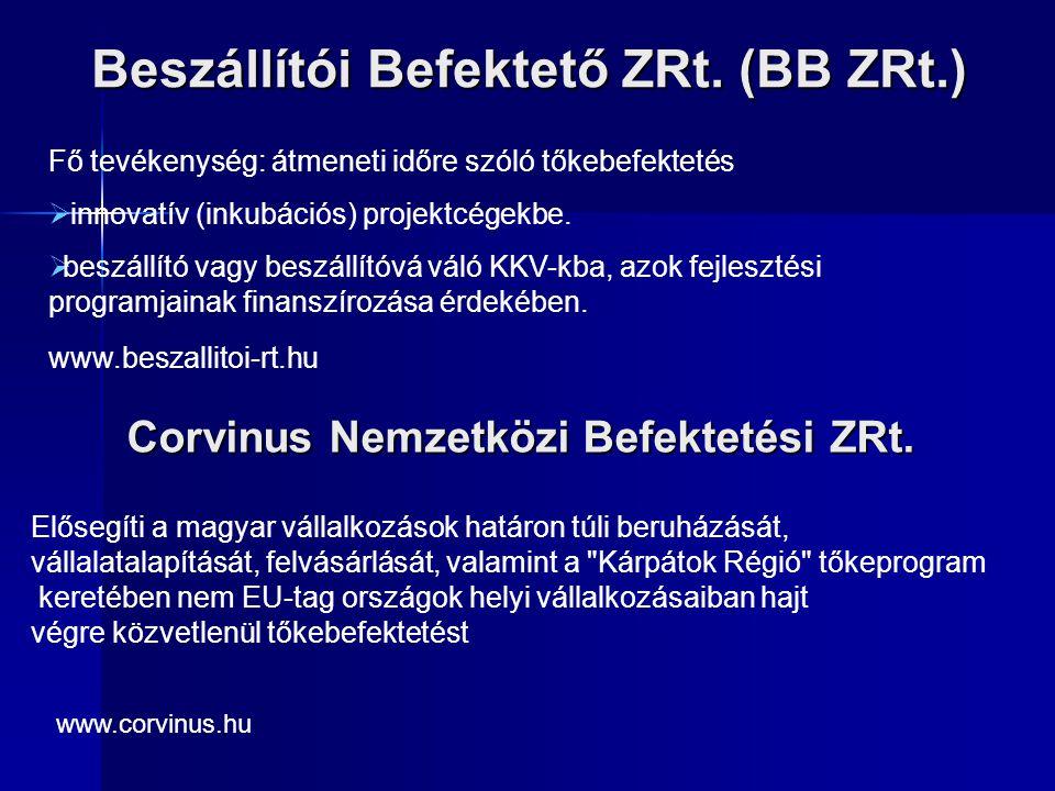 Beszállítói Befektető ZRt. (BB ZRt.)