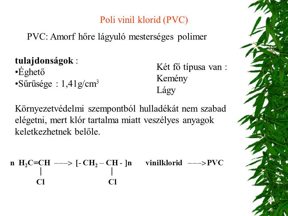 Poli vinil klorid (PVC)