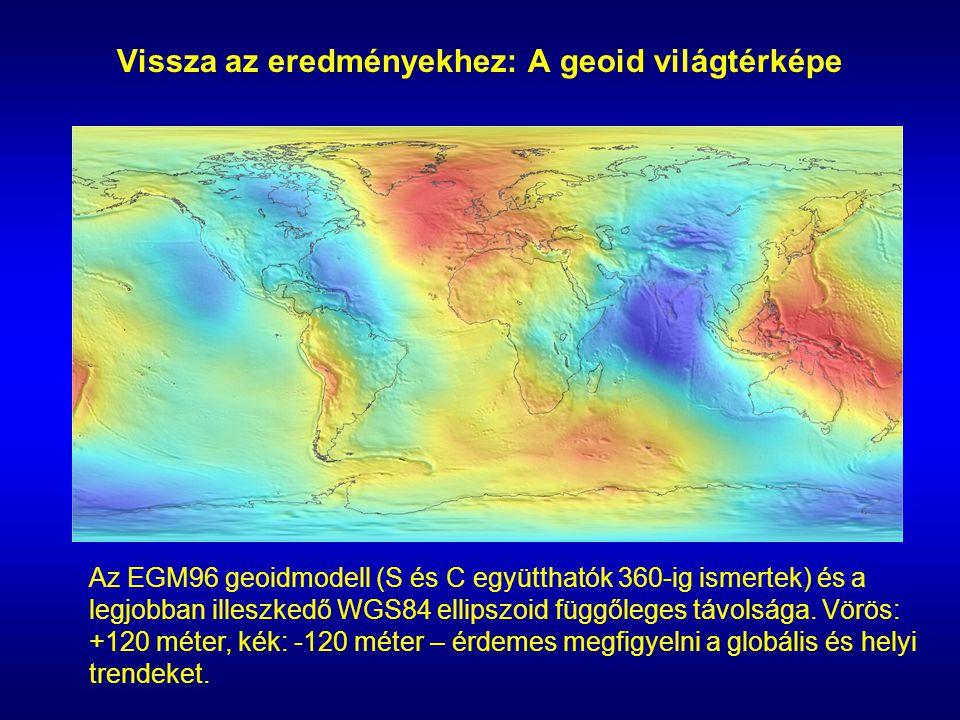 Vissza az eredményekhez: A geoid világtérképe