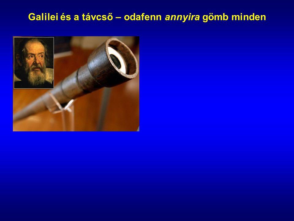 Galilei és a távcső – odafenn annyira gömb minden