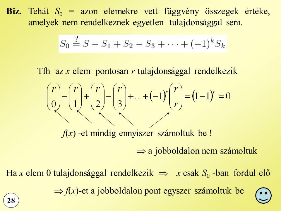 f(x) -et mindig ennyiszer számoltuk be !