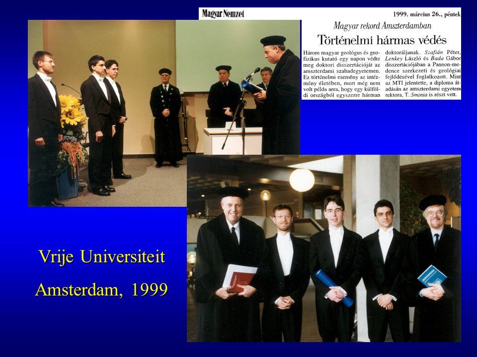 Vrije Universiteit Amsterdam, 1999