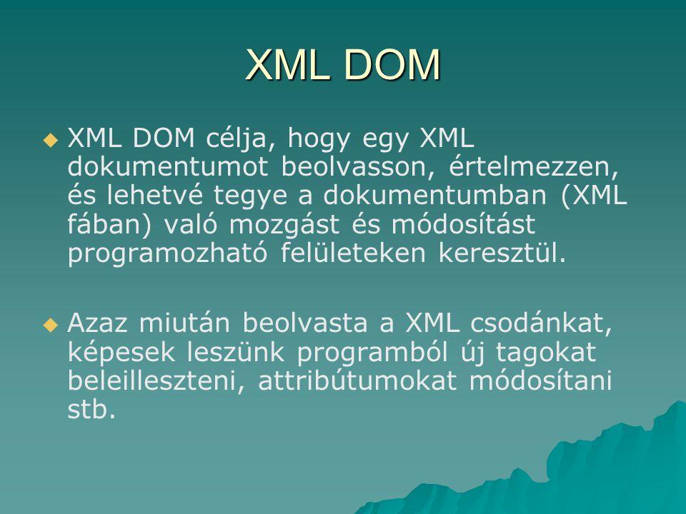 XML DOM