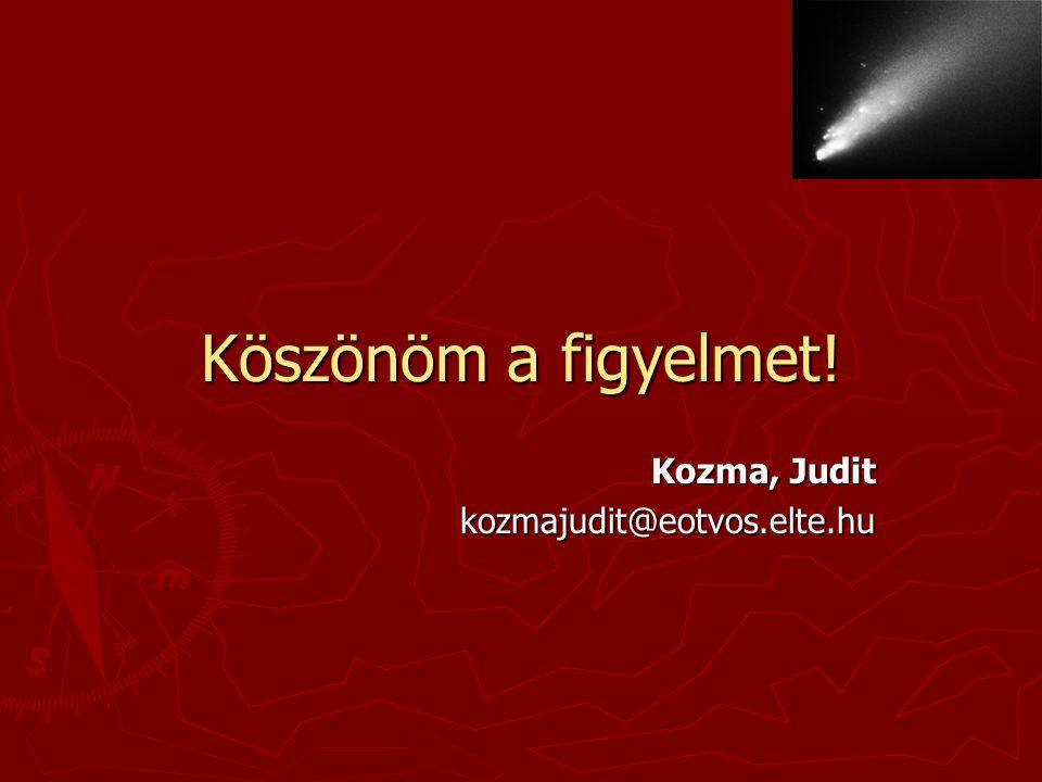 Kozma, Judit kozmajudit@eotvos.elte.hu