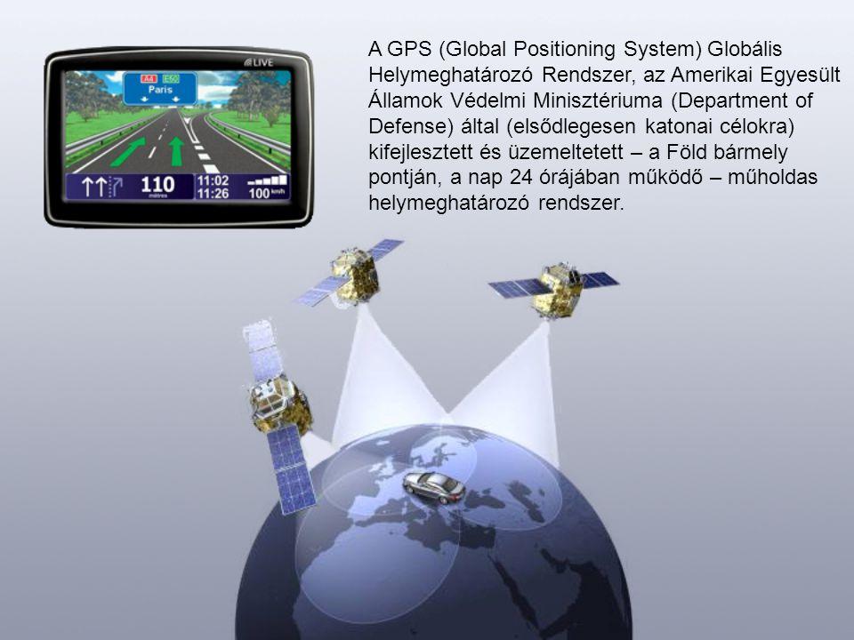 A GPS (Global Positioning System) Globális Helymeghatározó Rendszer, az Amerikai Egyesült Államok Védelmi Minisztériuma (Department of Defense) által (elsődlegesen katonai célokra) kifejlesztett és üzemeltetett – a Föld bármely pontján, a nap 24 órájában működő – műholdas helymeghatározó rendszer.