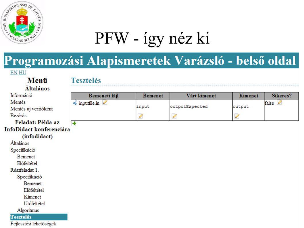 PFW - így néz ki