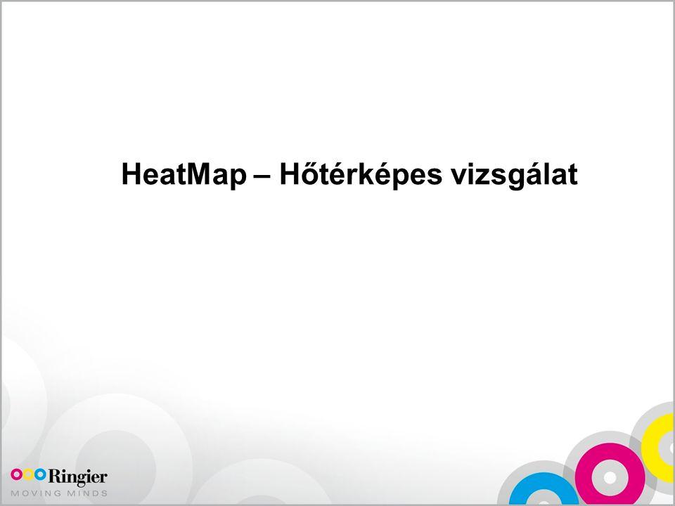 HeatMap – Hőtérképes vizsgálat
