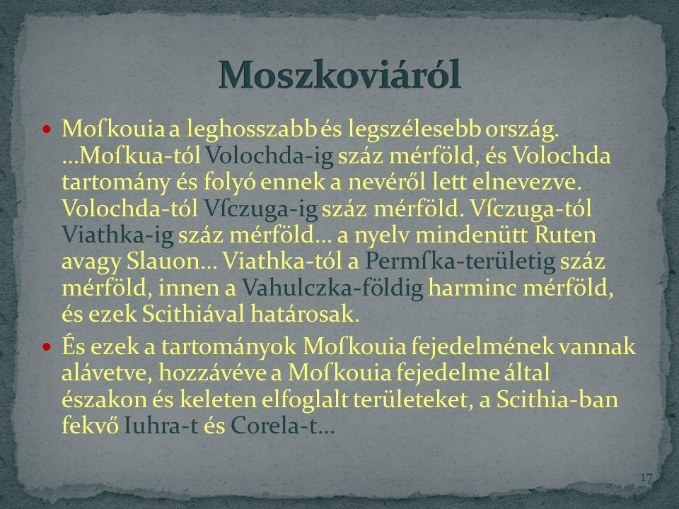 Moszkoviáról