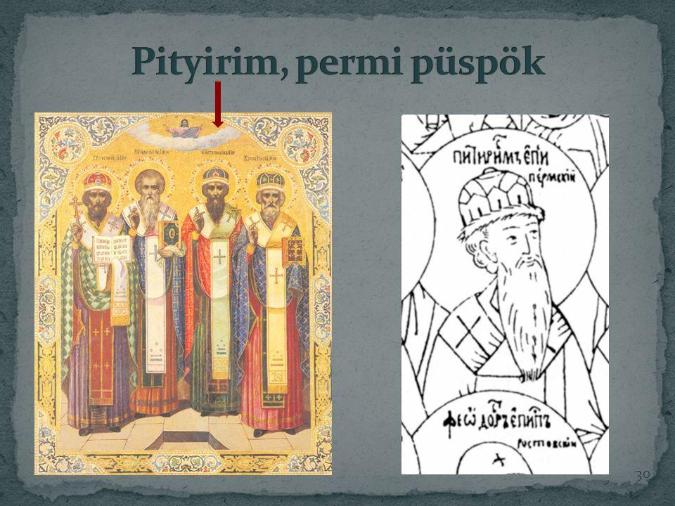 Pityirim, permi püspök