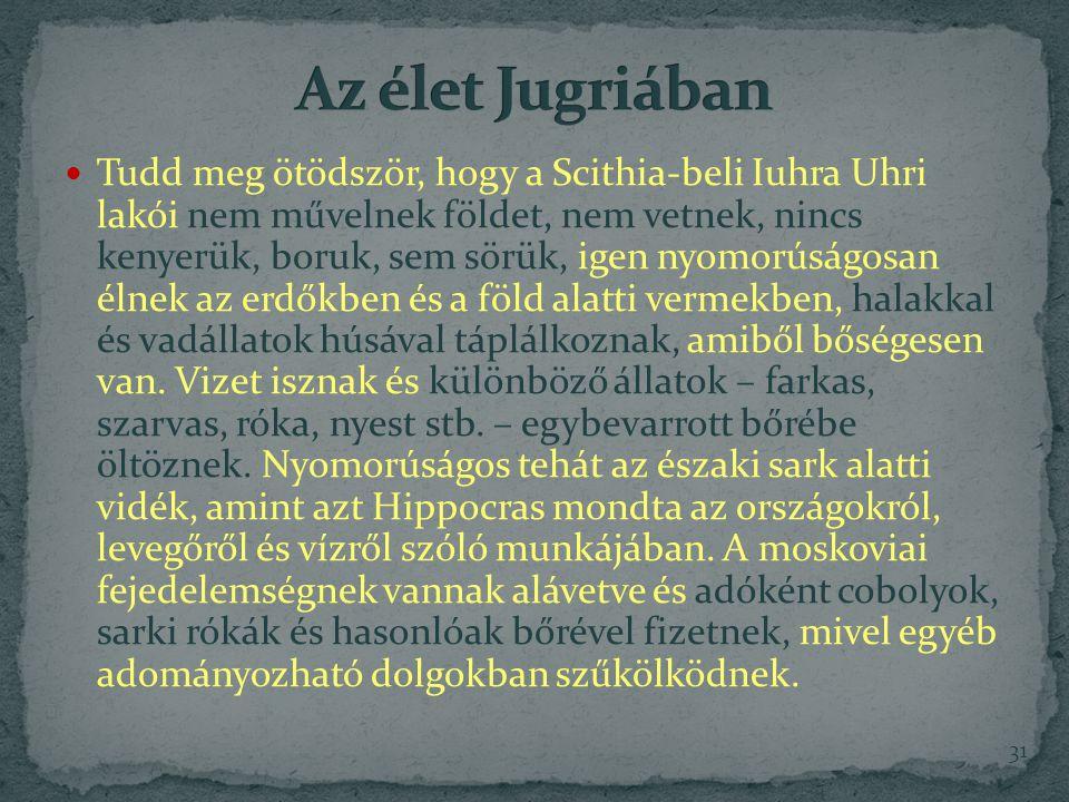 Az élet Jugriában