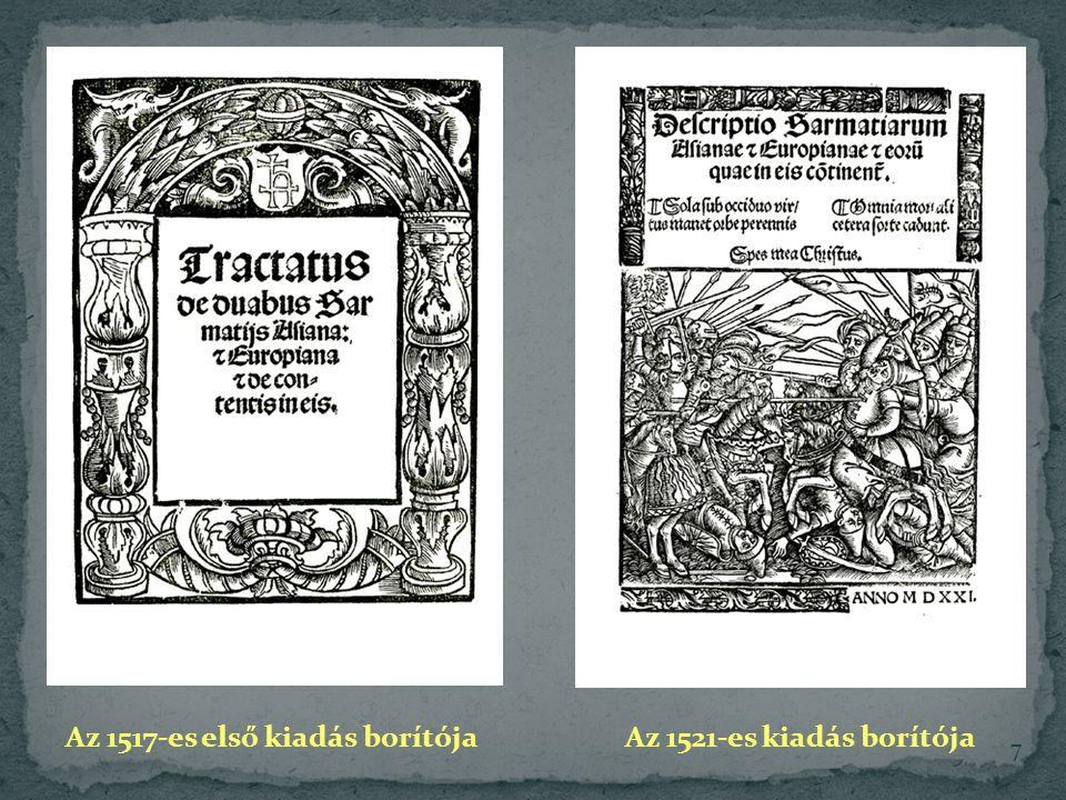 Az 1517-es első kiadás borítója