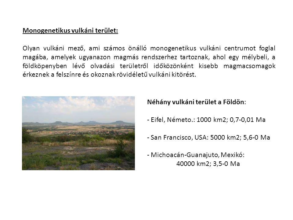 Monogenetikus vulkáni terület: