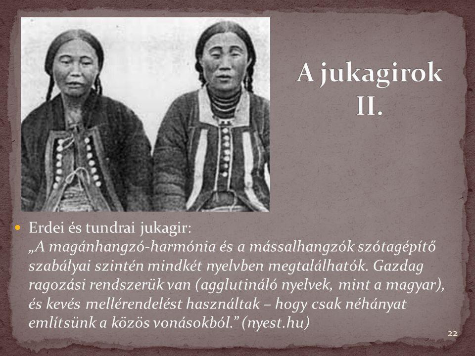 A jukagirok II.