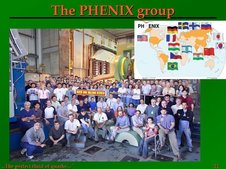 The PHENIX group