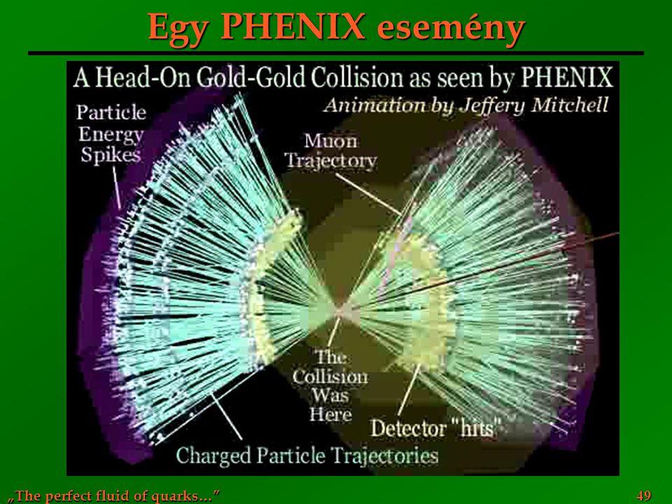 Egy PHENIX esemény